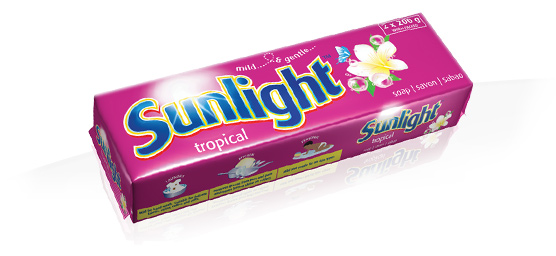 Buy Sunlight laundry soap bar 200g 2 pack - tropical