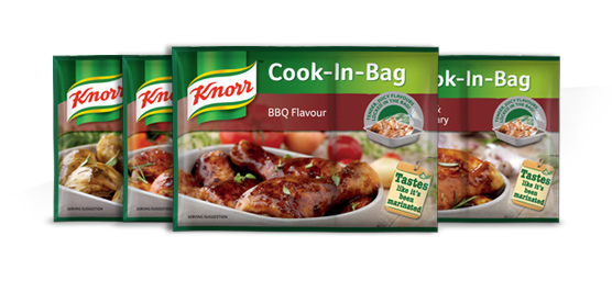 Buy any Knorr Cook-In-Bag 36g