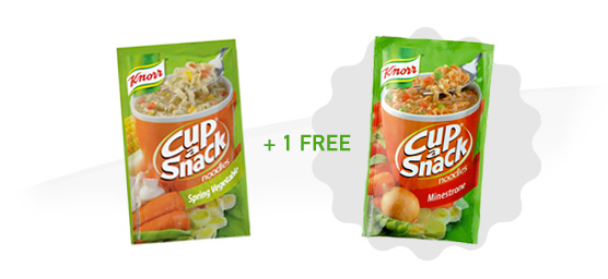 Buy any One Knorr Cup a Snack Noodles 40g