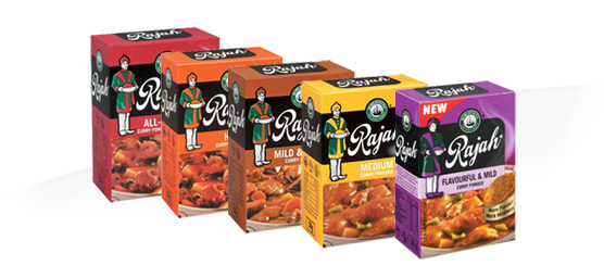 Buy any Rajah Curry Powder 50g