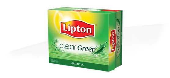 Buy Lipton clear green tea 100s