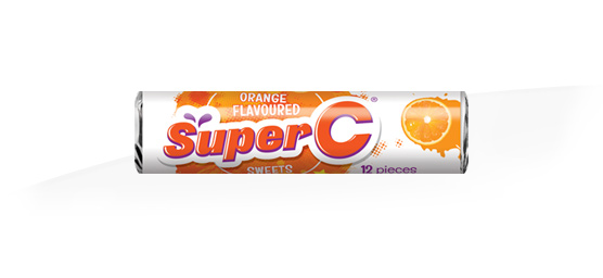 Buy Super C - Orange Sweet Roll 37G