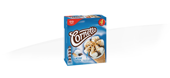Buy any Cornetto 4 pack