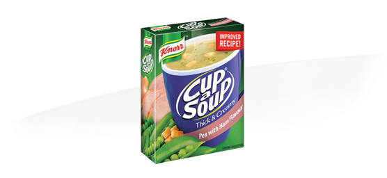 Buy any Knorr cup a soup Thick & Creamy 4 pack