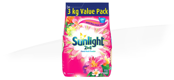 Buy Sunlight 2 in 1 Auto Washing Powder Tropical Sensations 3kg