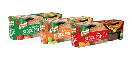 Buy any Knorr Assorted Stock Pot 4 Pack (4 x 28g)