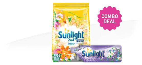 Buy Sunlight Auto 3kg & Sunlight Fabric Conditioner 500ml