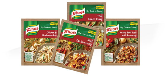 Buy any Knorr Dry Cook-in-Sauce