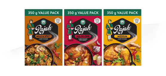Buy any Rajah Curry Powder 350g